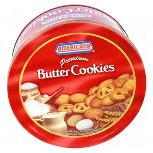 Americana Cookies Red Can 400 g