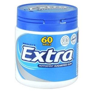 Wrigley's Extra Peppermint Gum Sugar Free 84 G