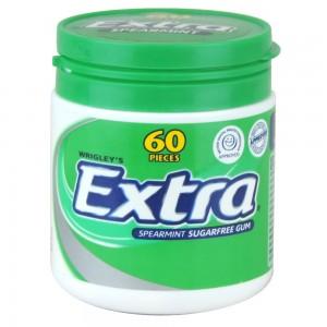 Wrigley's Extra Spearmint Gum Sugar Free 84 G