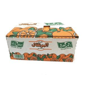Alrabie Long Life Juice Orange Drink 18x125 ml