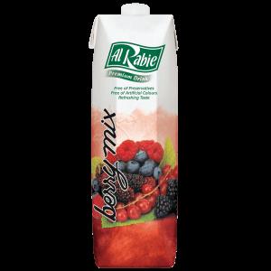 Alrabie Nectar Juice Long Life Mix Berries 1L