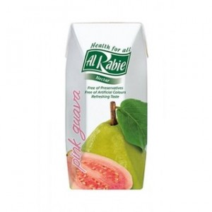 Alrabie Nectar Juice Long Life Pink Guava 330 ml