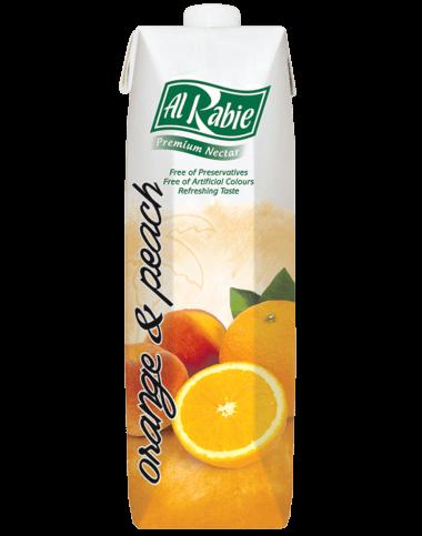 Alrabie Nectar Orange & Peach 1L