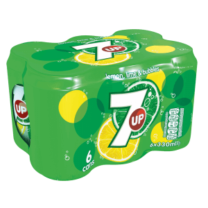 7 Up Can Pack 330Ml*6