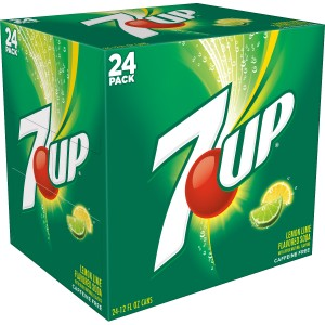 7up Box Cans 24x300ml