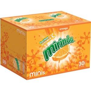 Mirinda Orange Can Sodas, Box of 24 Pieces (24 x 355ml)