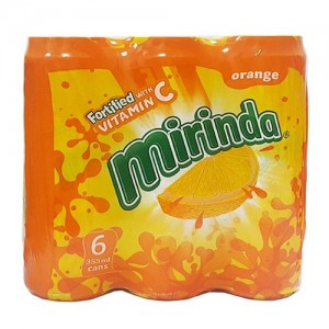 Mirinda Vitamin C Can 6x500ml