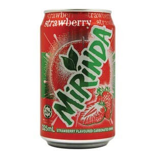 Mirinda Strwberry Can 355ml
