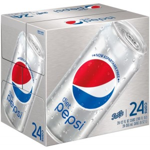 Pepsi Cola Diet 24x300ml