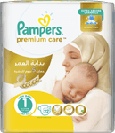 Pampers Baby Diapers Premium Care No 1 Newborn 33s