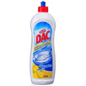 Dac Dishwashing Liquid Lemon 1L