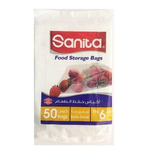 Sanita food storage bags N. 6 extra small 50 bags