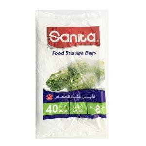 Sanita food storage bags N. 8 - small 40 bags