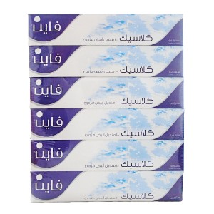 Fine Facial Tissue 6* 100 pcs