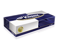 Kleenex Classic Facial Tissues 2*100 Pcs