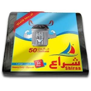 Shiraa Garbage Bag 50 Gallon 50Bags