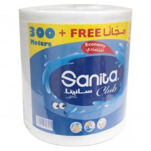 Sanita Club Bathroom Maxi Roll 300m +50 free