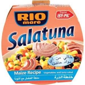 RIOMARE SALATUNA MAIZE RECIPE 160G