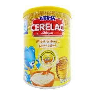 Nestle Cerelac Infant Cereal Wheat & Honey 400G Tin