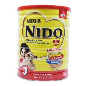 Nestle NIDO FortiProtect One Plus Growing Up Milk 400g