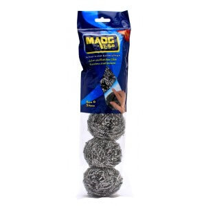 Maog Stainless Steel Scourer 5 pieces