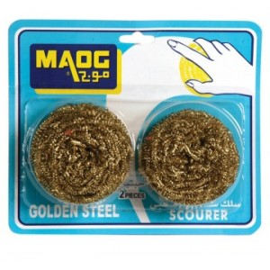 Maog Stainless Steel Scrubber 2 pieces