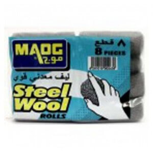 Maog Steel Wool Rolls 8 pieces