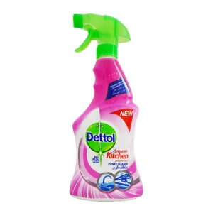 Dettol Healthy Kitchen Power Cleaner Trigger Spray Rose 500 ml
