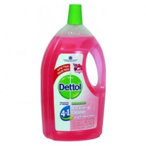 Dettol Multi Action 4N1 Cleaner Rose2L