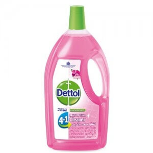 Dettol Multi Action 4N1 All Purpose Rose 1.50L