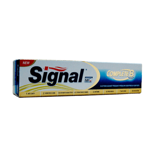 Signal Toothpaste 8 Complete Gold 120ML