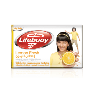 Lifebuoy Lemon Fresh Soap Bar 125 g