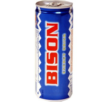 BISON ENERGY DRINK CAN 250ML