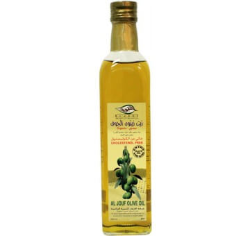 AL JOUF OLIVE OIL NATURAL 500ML