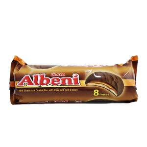 ULKER ALBENI 8 Pieces with chocolate
