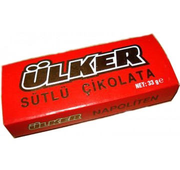 ULKER MILK CHOCOLATE  33G
