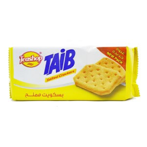 Teashop Taib Salted Crackers 90 G