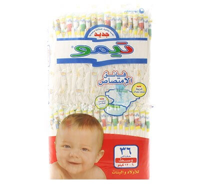 Teemo Medium Size - 36 Diapers