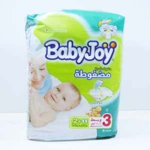 Babyjoy  Medium Size 3 11+2 diapers (6-12 kg.)