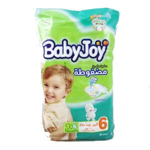 Babyjoy  XXX Large(6) From +16 KG 6 diapers