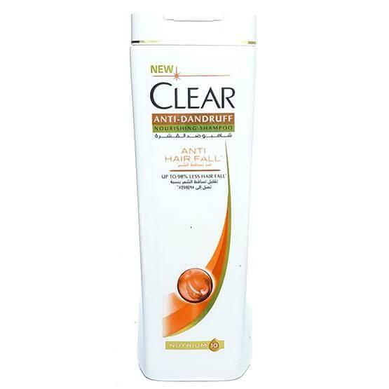 Clear Anti Dandruff Nourishing Shampoo Anti Hair Fall For Women - 190 ml