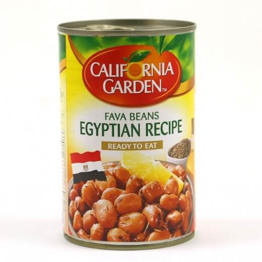 CALIFORNIA GARDEN FAVA BEANS EGYPTION RECIPE 450 G