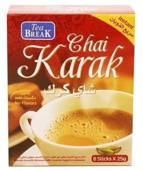 Tea Break Instant Chai Karak 8 Sticks 11.03SAR
