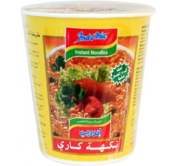 INDOMIE CURRY FLAVOUR CUP 60G
