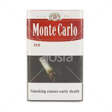 MONTE CARLO CIGARETTES - RED
