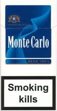 MONTE CARLO CIGARETTES BLUE