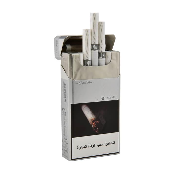 Pall Mall Silver Cigarettes