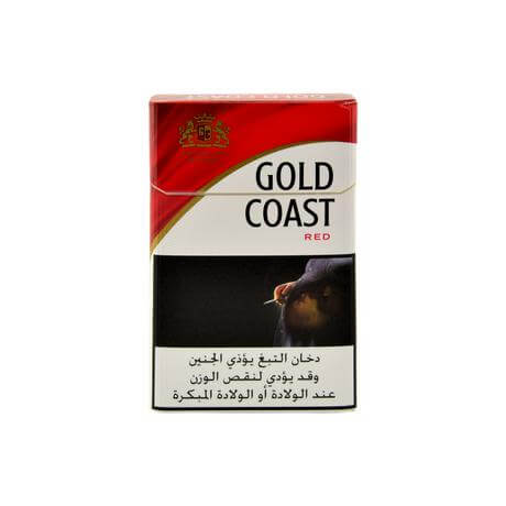 Gold Coast Red Cigarettes, 1 Pack