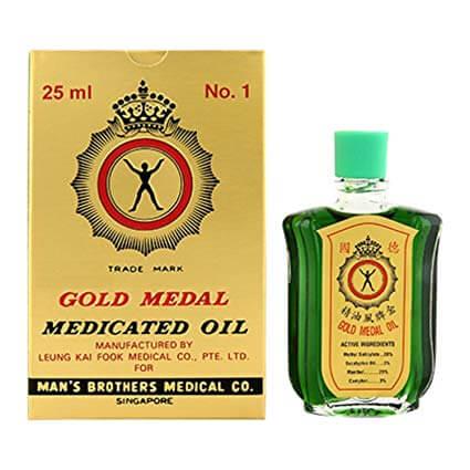 Gold Medal Medicated Oil (3ml)