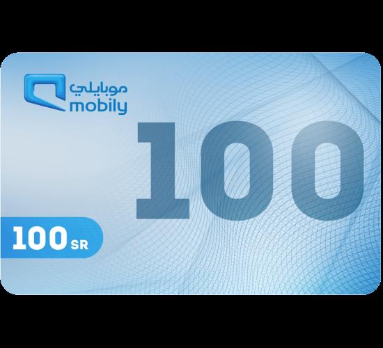Mobily Recharge Card 100 SAR